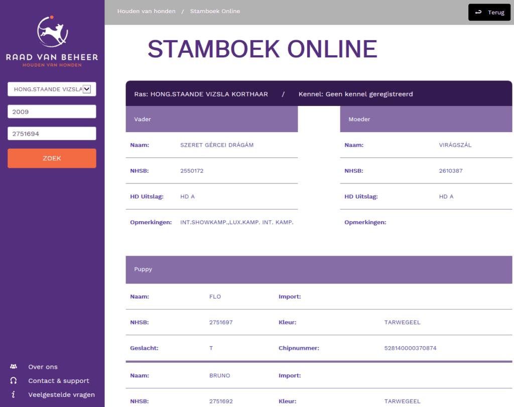 Stamboek v2 1024x810 - Stamboek raad van beheer