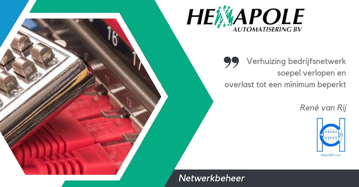 Quote Hoco - Nieuws van hexapole
