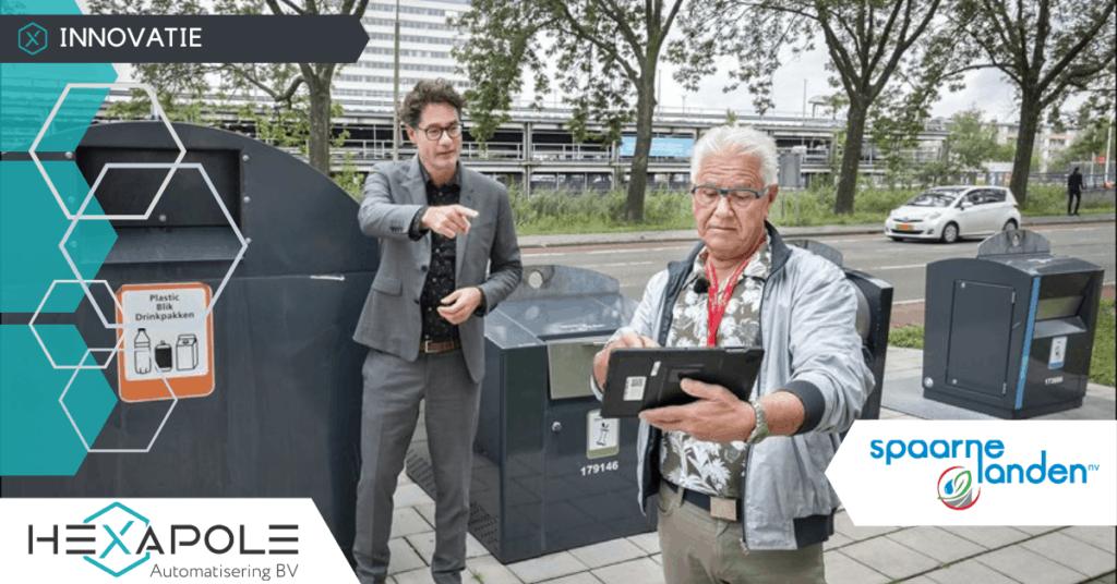 SPL Bewonersportaal 1024x536 - Lancering: check je container | Spaarnelanden en gemeente Haarlem