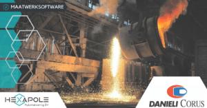 Danieli Corus 2 300x157 - Danieli Corus en Hexapole Automatisering B.V. verbreden de samenwerking!