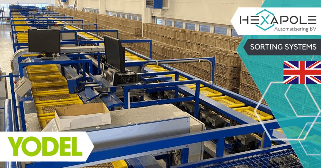 Yodel kiest voor sorteersysteem van Hexapole 1024x536 - Yodel kiest voor sorteersysteem van Hexapole!